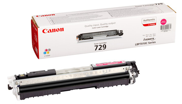 Genuine Canon 729M Magenta Toner Cartridge (4368B002AA)