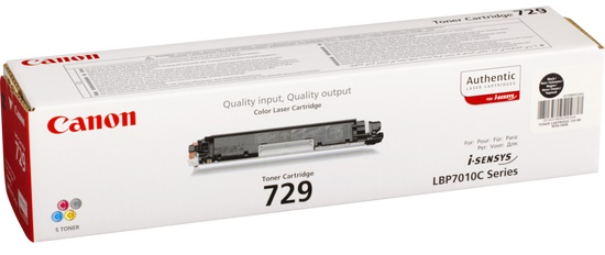 Genuine Canon 729 Black Toner Cartridge (4370B002AA)