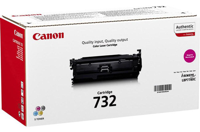 Genuine Canon 732M Magenta Toner Cartridge (6261B002)