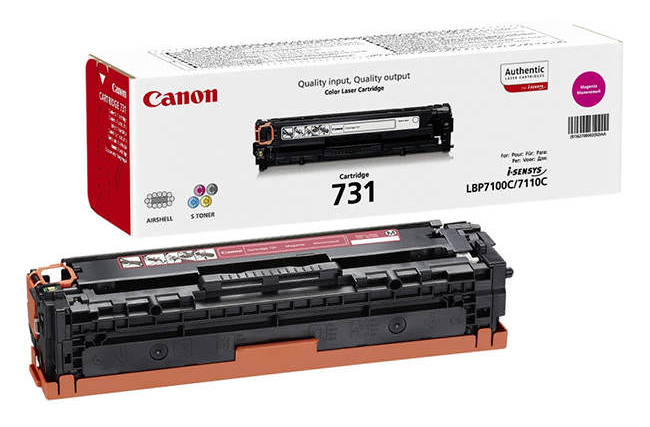 Genuine Canon 731M Magenta Toner Cartridge (6270B002)