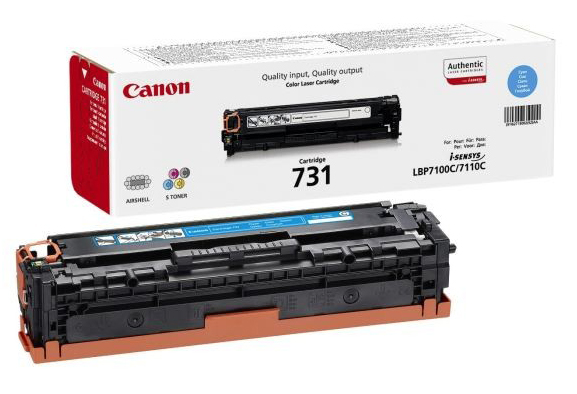 Genuine Canon 731C Cyan Toner Cartridge (6271B002)