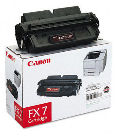 Genuine Canon FX7 Black Toner Cartridge (7621A002AA)