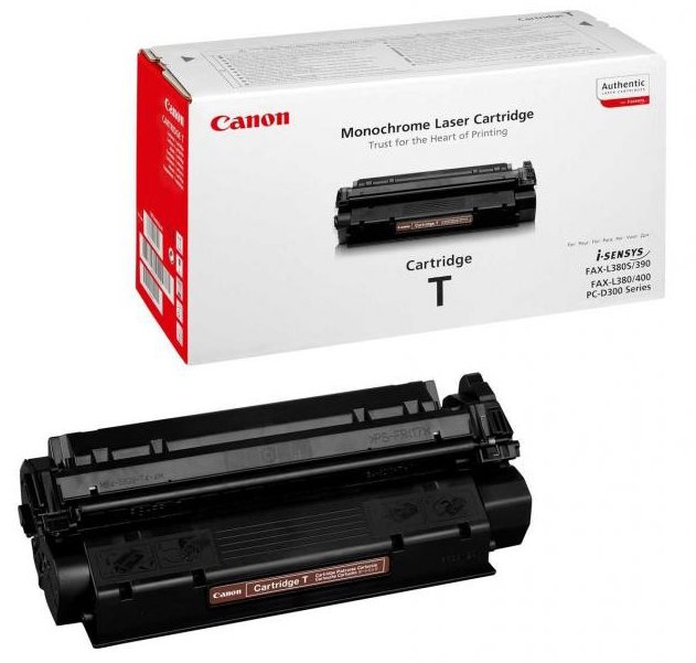 Genuine Canon T Black Toner Cartridge (7833A002)