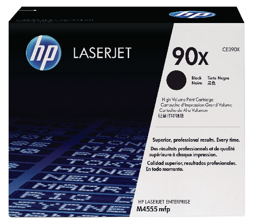 Genuine HP CE390XD (#90X) BK Twin High Capacity Toner Cartridge (HPCE390XDBKTWINOEM)