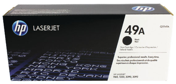 Genuine HP Q5949A (#49A) Black Toner Cartridge (HPQ5949ABKOEM)