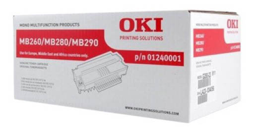 Genuine Oki (OK01240001) Black Toner Cartridge (1240001)
