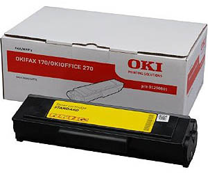 Genuine Oki (OK01290801) Black Toner Cartridge (1290801)