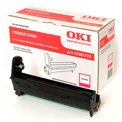 Genuine Oki (OK43381722) Magenta Drum Unit (43381722)
