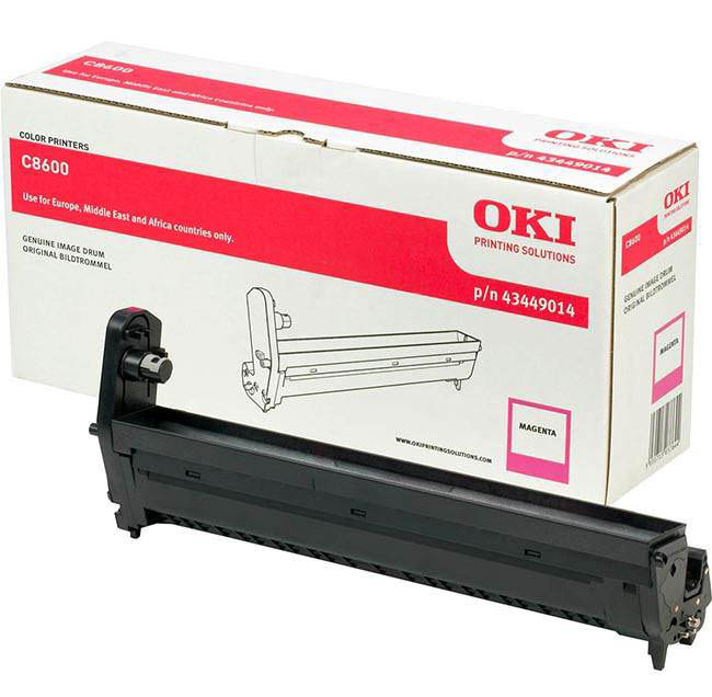 Genuine Oki (OK43449014) Magenta Imaging Drum Unit (43449014)