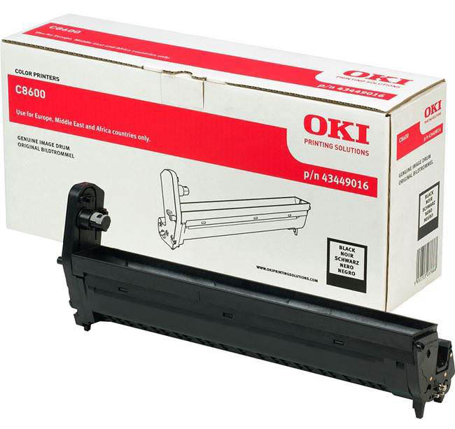 Genuine Oki (OK43449016) Black Imaging Drum Unit (43449016)