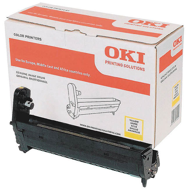 Genuine Oki (OK43870005) Yellow Imaging Drum (43870005)