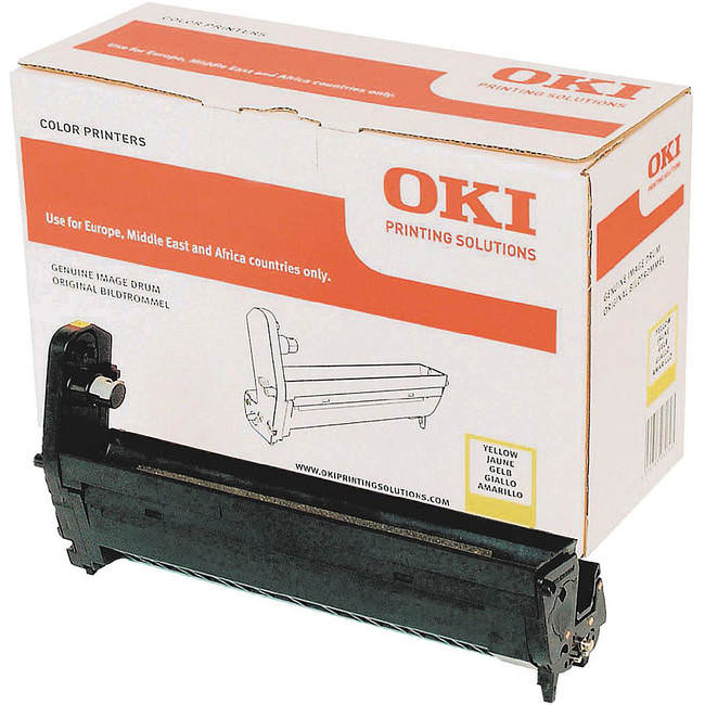 Genuine Oki (OK43870021) Yellow Image Drum (43870021)