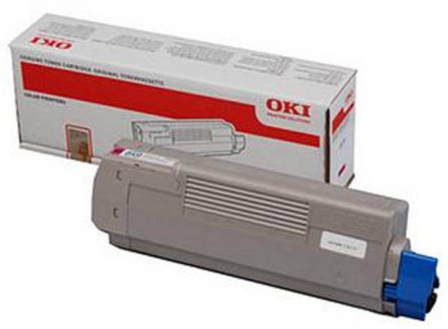 Genuine Oki (OK44059254) Magenta Toner Cartridge (44059254)