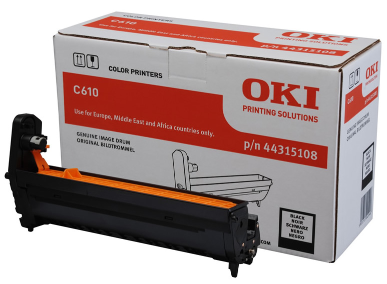 Genuine Oki (OK44315108) Black Image Drum (44315108)