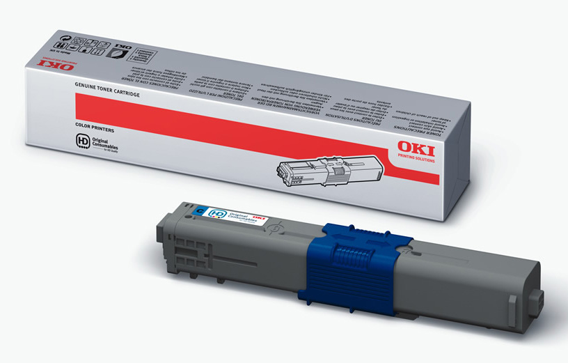 Genuine Oki (OK44469706) Cyan Toner Cartridge (44469706)