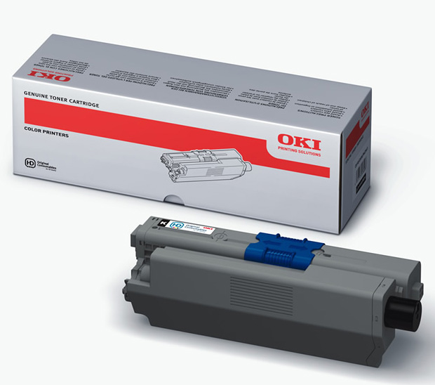 Genuine Oki (OK44469803) Black Toner Cartridge (44469803)