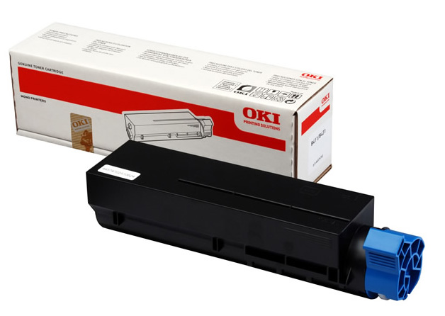 Genuine Oki (OK44574702) Black Toner Cartridge (44574702)