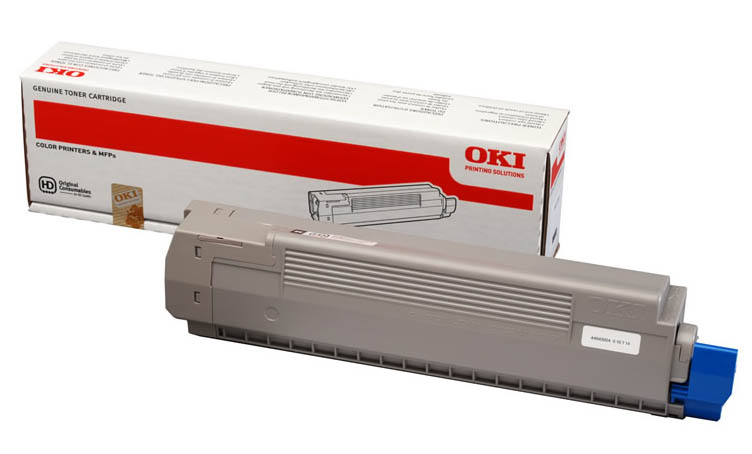 Genuine Oki (OK44643004) Black Toner Cartridge (44643004)