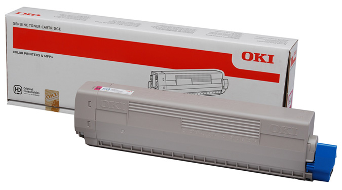 Genuine Oki (OK44844614) Magenta Toner Cartridge (44844614)