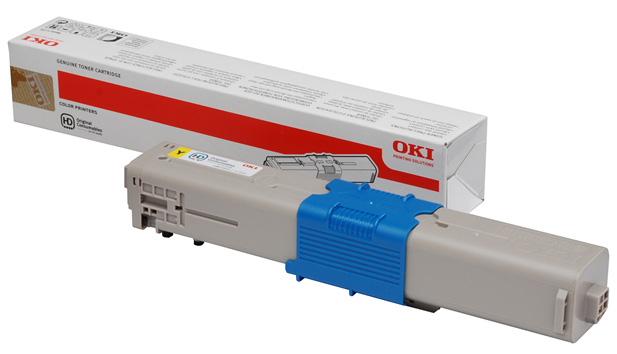 Genuine Oki (OK44973533) Yellow Toner Cartridge (44973533)