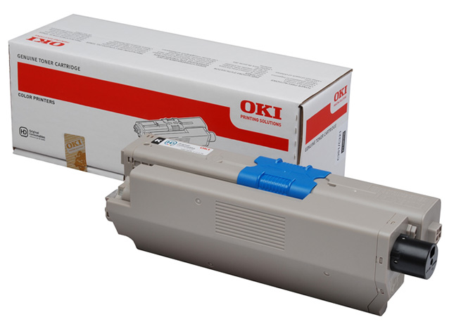 Genuine Oki (OK44973536) Black Toner Cartridge (44973536)