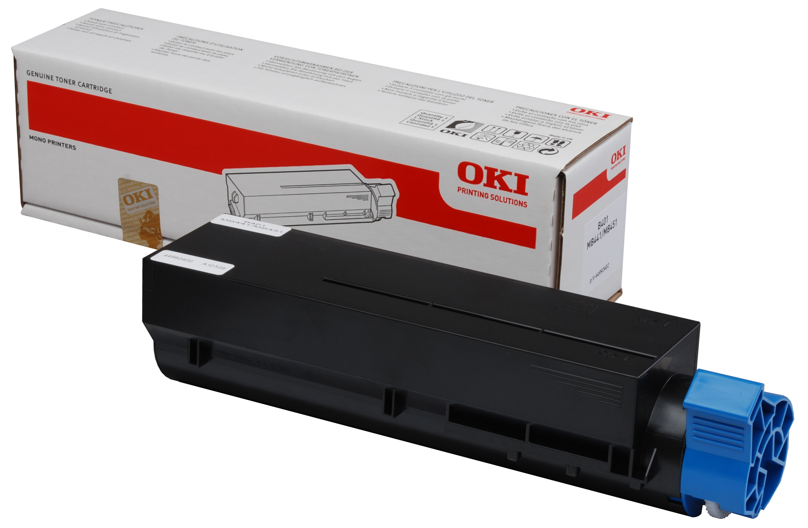 Genuine Oki (OK44992402) Black Toner Cartridge (44992402)