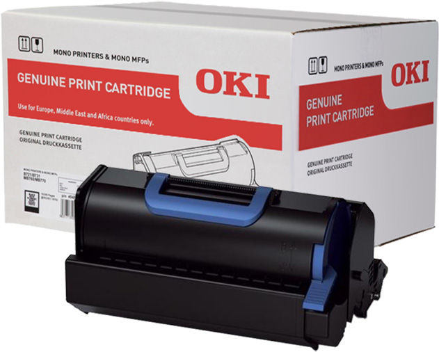 Genuine Oki (OK45439002) Black High Capacity (45439002)
