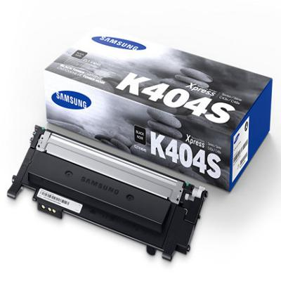 Genuine Samsung CLT-K404S Black Laser Cartridge (SAMCLT-K404SBKOEM)