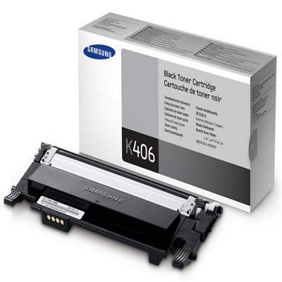 Genuine Samsung CLT-K406S Black Toner Cartridge (SAMCLT-K406SBKOEM)