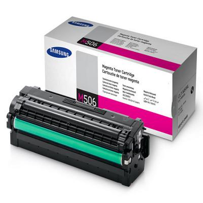 Genuine Samsung CLT-M506L Magenta High Capacity Toner Cartridge (SAMCLT-M506LMOEM)