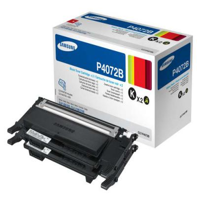 Genuine Samsung CLT-P4072B Twin Pack Toner Cartridge (SAMCLT-P4072BBKTWINOEM)