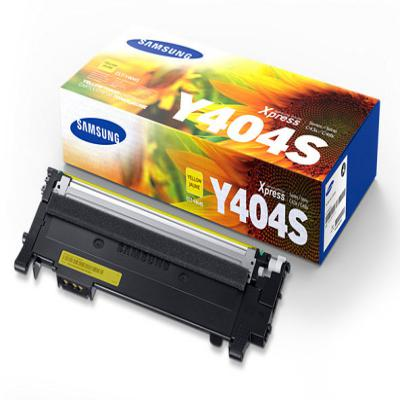Genuine Samsung CLT-Y404S Yellow Toner Cartridge (SAMCLT-Y404SYOEM)
