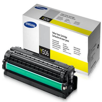 Genuine Samsung CLT-Y506S Yellow Toner Cartridge (SAMCLT-Y506SYOEM)