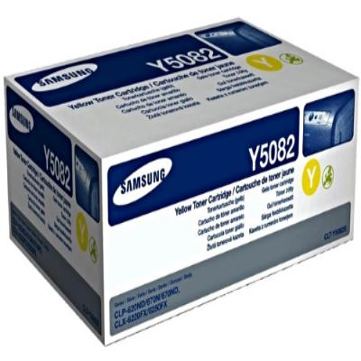 Genuine Samsung CLT-Y5082S Yellow Toner Cartridge (SAMCLT-Y5082SYOEM)