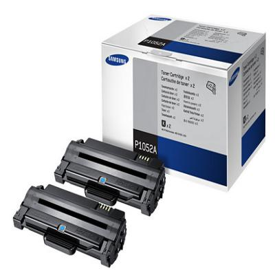 Genuine Samsung MLT-P1052A Twin Pack Toner Cartridge (SAMMLT-P1052ABKTWINOEM)